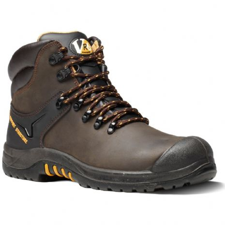 VR601 COUGAR BROWN WAXY HIKER BOOT